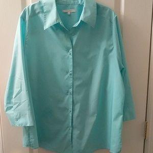 Foxcroft button-down shirt